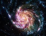 La galassia Girandola M107 (Nasa)